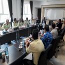 گزارش تصویری حضور فرماندهان نیروی انتظامی خراسان رضوی در موسسه