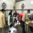 توزیع ۱۰۰۰ پرس غذای گرم و اقلام بهداشتی توسط فعالین دانشجویی موسسه خراسان